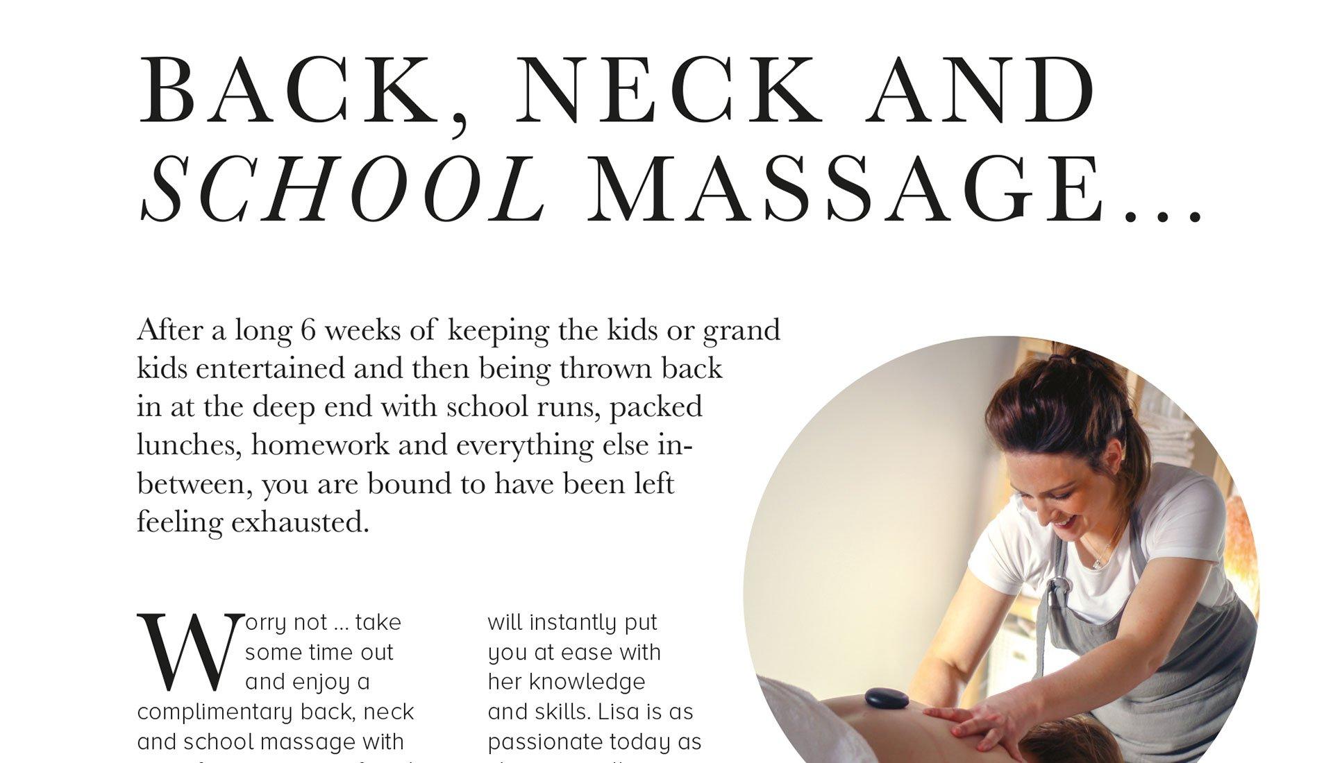 Massage article small