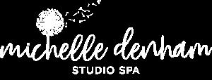 Michelle Denham logo white